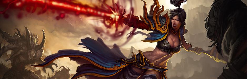 Diablo 3 - czarodziejka
